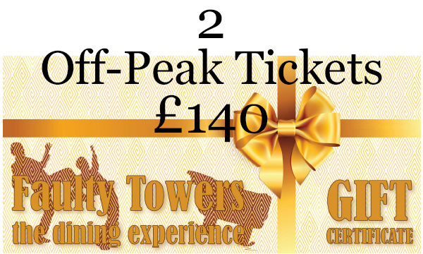 Gift voucher - 2 Off-Peak Tickets