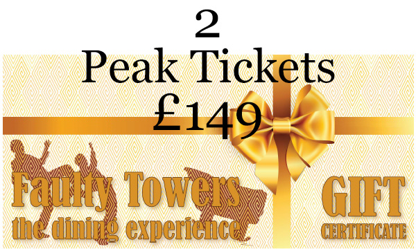 Gift voucher - 2 Peak Tickets