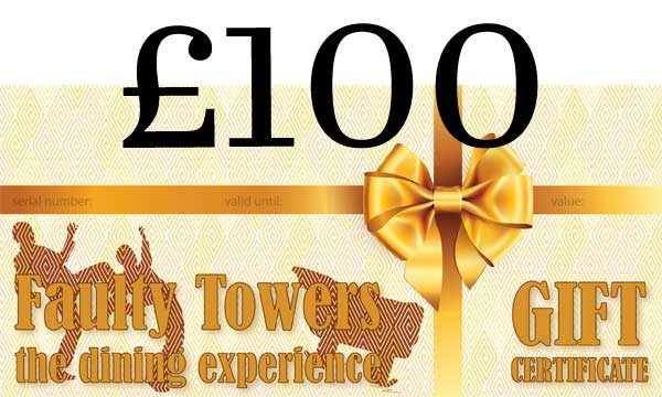 Gift voucher - 100 pounds