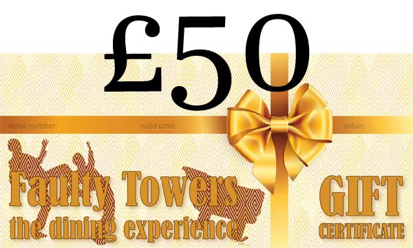 Gift voucher - 50 pounds